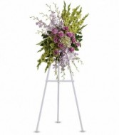 Heavenly Sentiments  Sympathy Standing Spray
