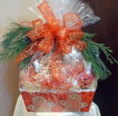 Holiday Goodie Basket 2641/ (Houston only) Christmas