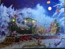 Illuminart - Santa's Toy Train