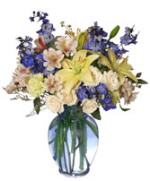 IT'S A BOY! BOUQUET Flower Arrangement in Santa Cruz, CA | BOULDER CREEK FLOWERS & DESIGN CO.