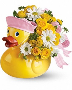 Just Ducky Baby Fresh in New Palestine, IN | THE ROSE LADY FLORAL & GIFT SHOPPE