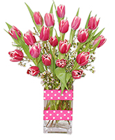 KISSABLE TULIPS Valentine's Day Bouquet