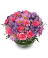 LAVENDER MIST Fresh Flowers in Red Deer, AB | SOMETHING COUNTRY FLOWERS & GIFTS