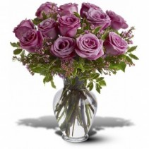 Lavender Rose Arranged in vase