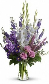 Lavender  Vase Arrangement