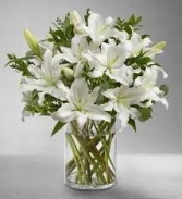 SA 5-Lilies in a vase Also available in other colors