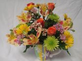 Reasonable bright cheery mug arrangements!! in Oxford, OH | OXFORD FLOWER AND SORORITY GIFT SHOP