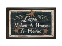 Love makes a House a Home Indoor/Outdoor Mat