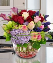 Cheer Me Up!! Mixed Spring Fresh  Flowers In Season