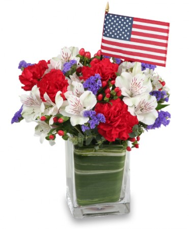 MADE IN THE USA Patriotic Arrangement