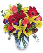 MAKE A SPLASH!  Bouquet in Clarksburg, MD | GENE'S FLORIST & GIFT BASKETS