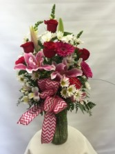MD13 Lillies And Roses