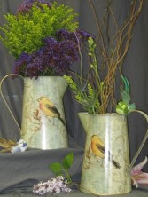 MEADOWBROOK PITCHER With Beautiful Flowers Our Surprise Natual Design - Margot's Delivery Area Only in Prospect, CT | MARGOT'S FLOWERS & GIFTS