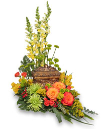 MEANINGFUL MEMORIAL Cremation Arrangement  (urn not included)  in Michigan City, IN | WRIGHT'S FLOWERS AND GIFTS INC.