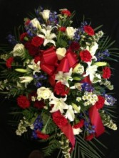 Memories of a Lifetime Spray Funeral Arrangement