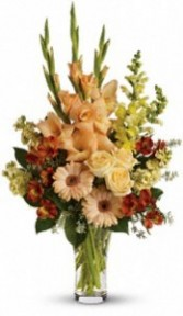 SA 7-Mixed vase arrangement Flowers and colors may vary