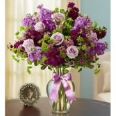 SA 4-Mixed vase arrangement Flowers and colors may vary