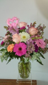 Mothers Day Special No 1  Roses, Gerbera Daises, Stock