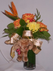 ROSES & GIFTS - MY TEDDY BEARS HUGS Roses & Teddy Bears Gifts  in Prince George, BC | AMAPOLA BLOSSOMS FLORISTS