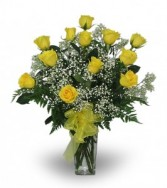 One Dozen Yellow Roses Everyday