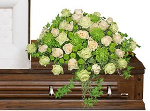 Overflowing Affection  Casket Spray in Richland, WA | ARLENE'S FLOWERS AND GIFTS