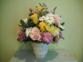 PASTEL MEDLEY Flower Arrangement in Grand Island, NY | Flower A Day