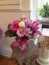 Perky and Sweet Vase arrangement  in Dunellen, NJ | PONTI'S PETALS