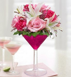 PINK COSMO  in League City, TX | LEAGUE CITY FLORIST