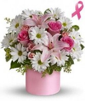 Pink Hope Bouquet in Dunellen, NJ | PONTI'S PETALS