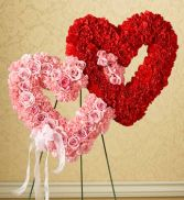 Pink & Red Double Heart SY130