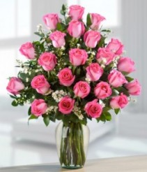 Pink Roses  Valentines Day