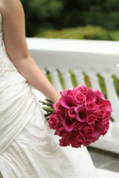 Pinkalicious Wedding Flowers Bridal Bouquet in Bloomfield, NY | BLOOMERS FLORAL & GIFT