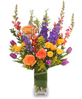 PICTURESQUE POSIES Flower Arrangement in Plymouth, MA | CAROLE'S FLOWERS AND GIFTS