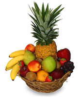 PREMIUM FRUIT BASKET Gift Basket in Zachary, LA | FLOWER POT FLORIST