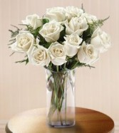 Premium White Rose Bouquet