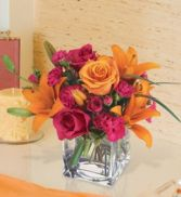 JUST FOR YOU Cube Arrangement in Edison, NJ | E&E FLOWERS AND GIFTS