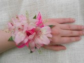 Pretty in Pink Prom Corsage