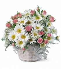 Pretty Posies Cheerful basket perfect for any occasion