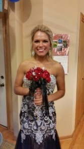 Prom5 Hand Tied Bouquet