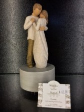Willow Tree Promise Musical Figurine Turns and plays Pachelbel's