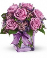 Purple Passion Fresh Arrangement