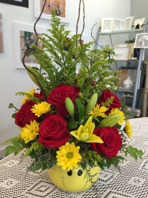 PUT ON A HAPPY FACE BOUQUET UPGRADE *LOCAL DELIVERY ONLY*
