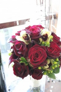 RED ROSE WITH ACCENTS BOUQUET