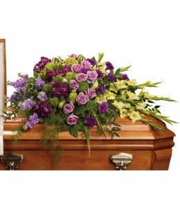 Reflections of Gratitude Casket Spray Casket Flowers
