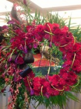 Regal Red Wreath Funeral Wreath