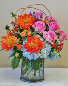 REMARKABLE RAINBOW  Arrangement of Flowers