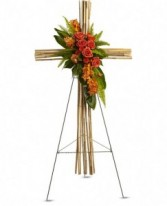 River Cane Cross Standing Cross Spray