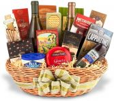 ROMANTIC  GOURMET NON-ALCOHOLIC GIFT BASKET in Clarksburg, MD | GENE'S FLORIST & GIFT BASKETS