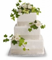 Roses and Ivy Cake Decoration H1853A