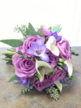 Roses, Freesie & Calla Lilly Bouquet